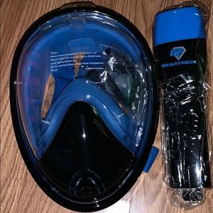 New Geartreck Snorkel Set xl never used w bag